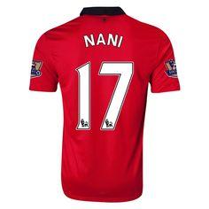 f70911e31d0 13-14 Manchester United  17 NANI Home Jersey Shirt Manchester United  Soccer