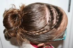 Cute, fast hairstyle for the tweens when going out - or just because!