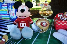 49ers Mickey Mouse.