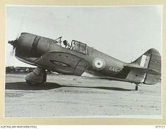 Royal Australian Air Force Commonwealth Aircraft Corporation CAC Boomerang.