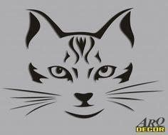 Czarny Kot (NA ZAMÓWIENIE) 04 Dekoracje Ścienne 3d - ARQ - DECOR | Pracowania Dekoracji ARQ DECOR
