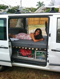 Picture of Camper Van Collapsible Bed