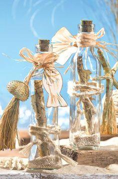 Dekorative Flaschenpost - Bastelshop und Hobby VBS Bastelbedarf
