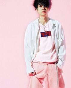 いいね!23件、コメント1件 ― おーちゃんさん(@sd_tmr221)のInstagramアカウント: 「#メンズノンノ#菅田将暉#ピンク#pink」