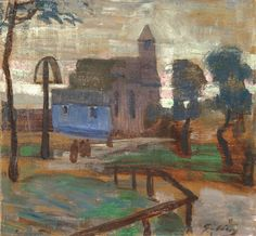 View Landscape with monastery by Lajos Gulácsy on artnet. Browse upcoming and past auction lots by Lajos Gulácsy. Past, Auction, Landscape, Paintings, Artists, Past Tense, Scenery, Paint, Painting Art