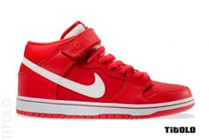 "Nike SB Dunk Mid ""Crimson"""