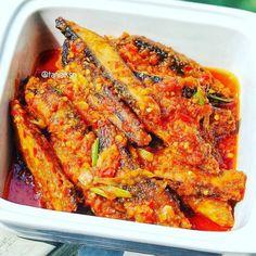 Resep masakan praktis sehari-hari Instagram Lunch Box Recipes, Fish Recipes, Baby Food Recipes, Seafood Recipes, Asian Recipes, Cooking Recipes, Healthy Recipes, Ethnic Recipes, Indonesian Recipes