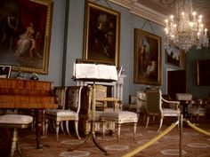 Drawing Room, Attingham Park and Estate, Shropshire
