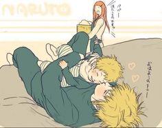 Minato and Kushina Naruto | Shishiii » Photos » Naruto: ~Minato & Co' » Minato et Naruto ...