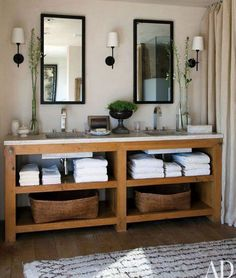 """Organic Modern"" Bathroom Design"