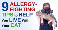 Are you a cat lover but allergic to cats? Here are some tips to help minimize cat allergies at home. http://healthypets.mercola.com/sites/healthypets/archive/2015/02/23/cat-allergies.aspx