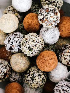 Salted chocolate truffles by Ashlae | oh, ladycakes, via Flickr
