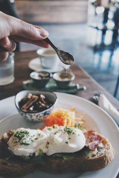Healthy start - Beautiful morning to share a healthy breakfast with a great company.