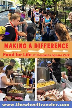Volunteer vacations encourage travelers to give back to the communities they visit. With the Food for Life Project at Tompkins Square Park in New York City, guests who stay at Sanctuary Suites NYC can help feed hungry people. Find more ideas for purposeful travel in my guest post on the Plan Hero blog.