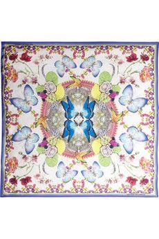 Matthew Williamsonsatin scarf