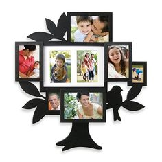 8-Picture Family Tree Collage Frame - BedBathandBeyond.com