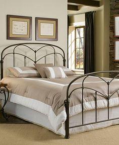 Tamara Hazelnut Queen Bed, Metal Bed Frame - Beds - furniture - Macy's