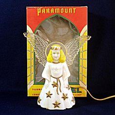 Paramount Illuminated Angel Christmas Tree Topper In Original Box