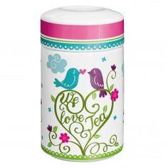 Totally Tea Design Teedose mit Deckel, Porzellan, Sandra Kretzmann, Frühjahr 2013, 2920005