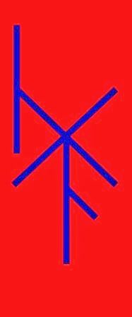 I made this bind Rune to help manage and process anger.  Everyone can use one once in a while.