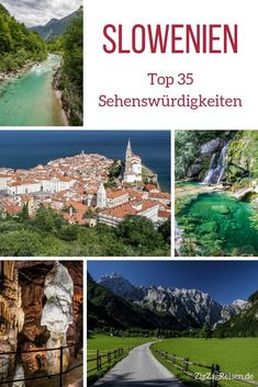 Top 35 Slowenien Sehenswürdigkeiten – Natur + Architektur (mit Fotos) Slovenia Holiday – Top 35 Slovenia Attractions (Nature + Architecture) – Photos + Tips Africa Destinations, Amazing Destinations, Holiday Destinations, Travel Destinations, Slovenia Travel, Iceland Travel, Travel Sights, Europe Travel Tips, Koh Lanta Thailand