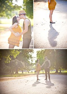 Couple's Maternity Session in London, England