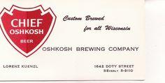 grandpa's business card