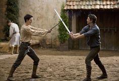 Alasdair vs. Altair, sword fighting lessons