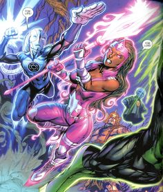 Fatality fights for Love    Green Lantern: New Guardians #12