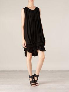 Givenchy Loose Fit Ruffled Dress - Elite - Farfetch.com