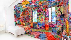 Chambre d'hotel à Marseille très originale