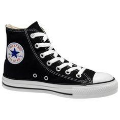 buy online 9d253 afc76 Converse Chuck Taylor All Star Hi Top Black Canvas Shoes men s 3  women s 5  Converse