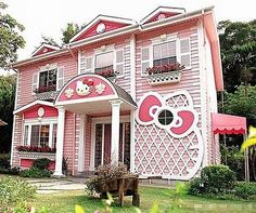 Hello Kitty house? For real?  Here ya go Britt and Christina!!  LOL!