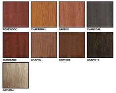 Minwax Polyshades Color Chart For The Home In 2019