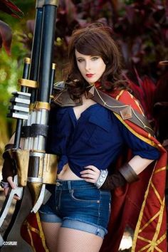 Graves (Fem. Version) from League of legends Cosplayer: Blondiee Photographer: Cosplay Australia