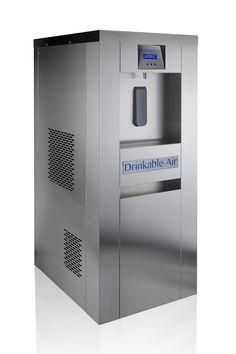 "Atmospheric Water Generator: ""Chameleon by Drinkable-Air - Home Technology Ideas Atmospheric Water Generator, Water From Air, Home Technology, House Blueprints, Alternative Energy, Chameleon, Locker Storage, Cabin Ideas, Safety"