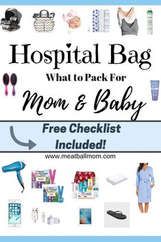 29 best hospital bag for mom to be images on pinterest in 2018