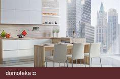 Elegancka kuchnia Jukon I - inspiracja od Rust.