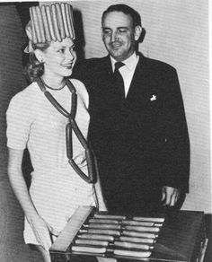 The hot dog queen.