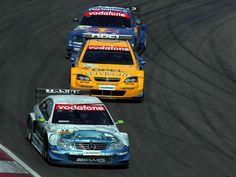 Mercedes Benz CLK, Opel Astra and Audi TT race cars - DTM