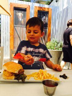 Kiddies burger??