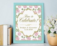 Tea Time Whimsy Personalized Poster (18x24)