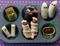 Halloween lunch foods!