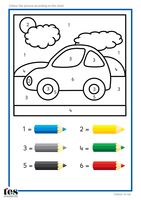 Colour by Numbers TEACCH Activities by tesAutism - UK Teaching Resources - TES