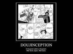 Doujinception - Seriously Japan, well done.
