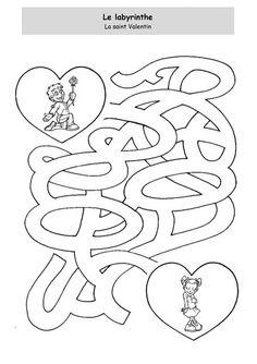 La Saint Valentin - Le labyrinthe