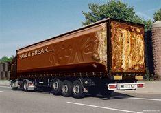Dessins originaux sur Camions