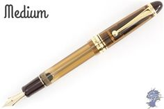 Pilot Custom 823. This brown demonstrator is the perfect fall tool.