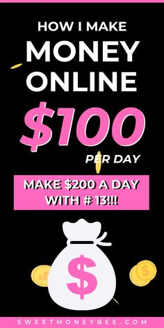 Need money now? Learn how to make 100 dollars a day online and offline. Here are 21 creative ways to make money fast! Earn Money From Home, Earn Money Online, Make Money Blogging, Online Jobs, Money Saving Tips, Money Fast, Win Money, Online Income, Online Earning