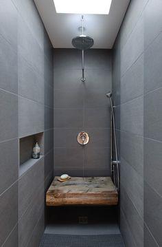 Modern Bathroom Shower Ideas Rectangle Modern Bathroom Shower Tile Ideas Ballastwaterus Top 50 Best Modern Shower Design Ideas Walk Into Luxury Shower Seat, Shower Niche, Rain Shower, Shower Tiles, Shower Bathroom, Master Shower, Slate Shower, Tile Showers, Shower Screen